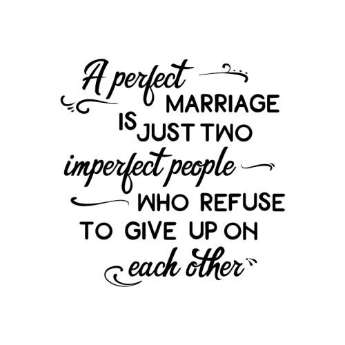 A perfect Marriage